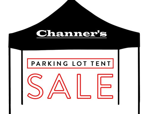 NOW ON! Parking Lot Tent Sale – 50-75% Off