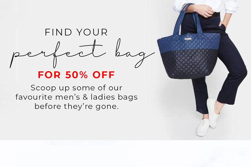 Find Your Perfect Bag - Channer's London
