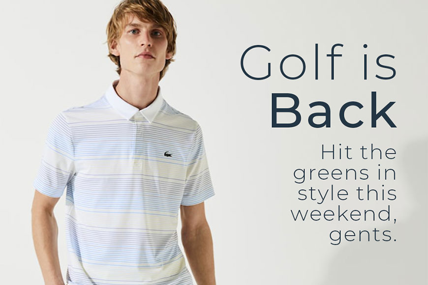 Golf Is Back