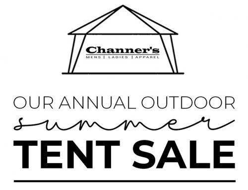Annual Outdoor Tent Sale