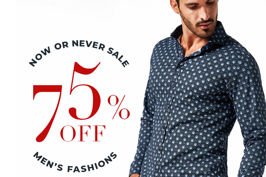Now Or Never Sale - Channer's London