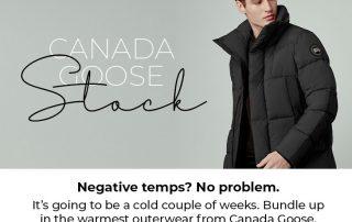 Canada Goose Stock