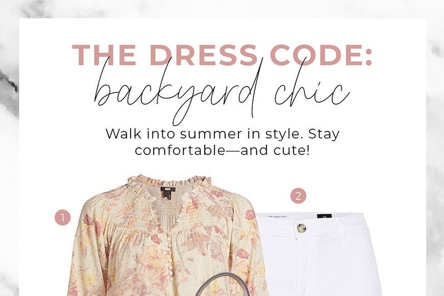 The Dress Code: Backyard Chic - Channer's London